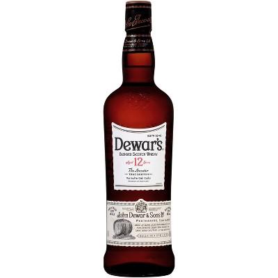 Dewar's 12yr Special Reserve Scotch Whisky - 750ml Bottle