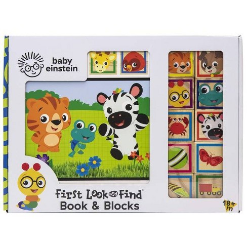 Baby Einstein - (Look and Find) by  Emily Skwish (Board_book) - image 1 of 4
