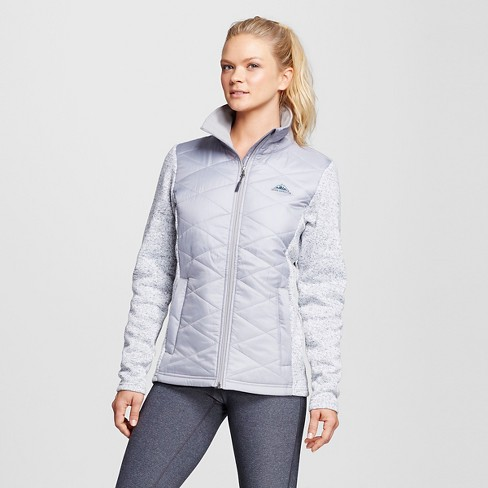 Women's Sierra Expedition Kerr Insulated Hybrid Outerwear Jacket - Gray - image 1 of 2