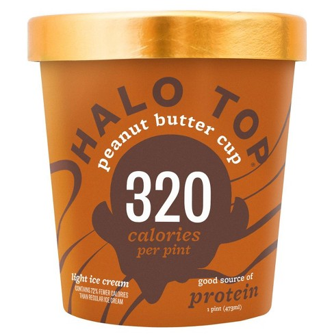 Halo Top Peanut Butter Cup Ice Cream - 16oz - image 1 of 2