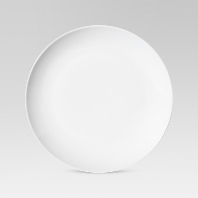 Coupe Dinner Plate 10.4 x10.4  Porcelain Set of 4 - Threshold™