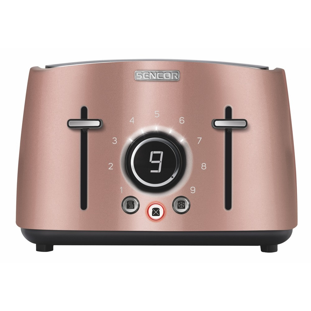 Sencor Metallic 4 Slice Toaster – Rose (Pink) 54281263