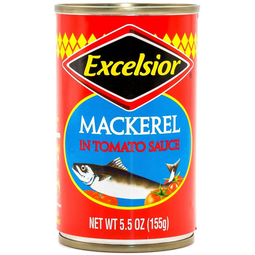 Excelsior Jack Mackerel in Tomato Sauce - 5.5oz