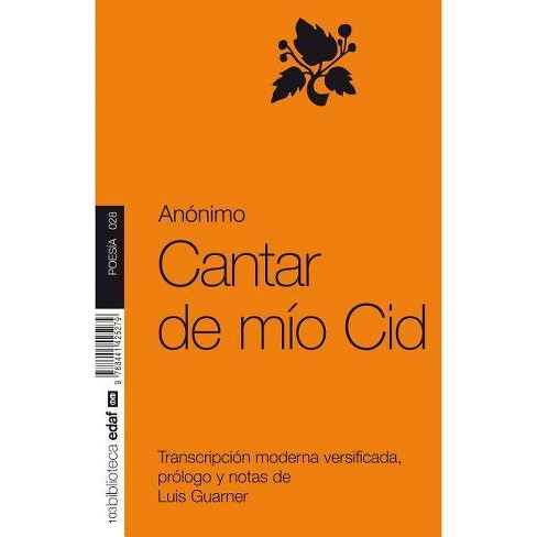 Cantar de Mio Cid - by  Luis Guarner (Paperback) - image 1 of 1