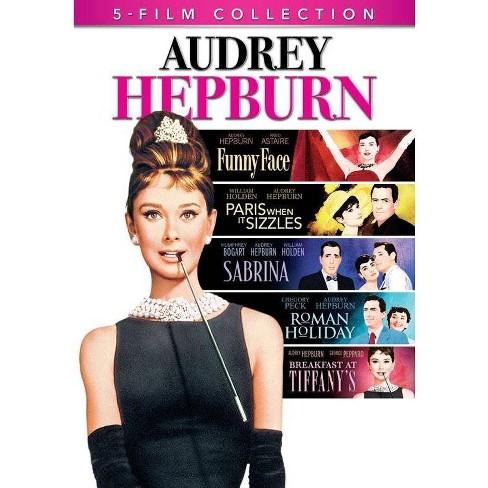 Audrey Hepburn 5-Film Collection (DVD) - image 1 of 1