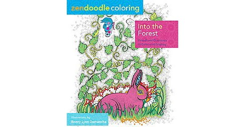 In the Forest ( Zendoodle Coloring) (Paperback) - image 1 of 1