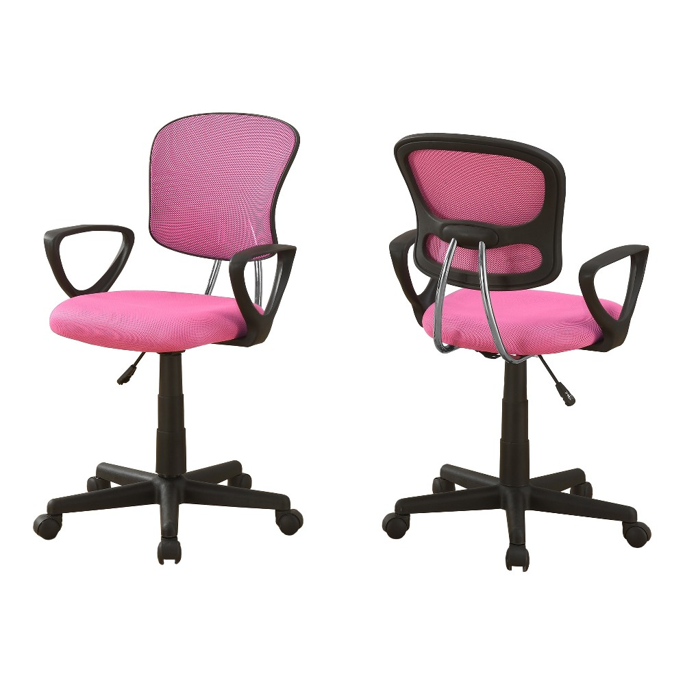 Image of Office Chair - Pink Mesh - EveryRoom