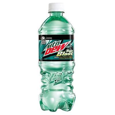 Mountain Dew Baja Blast - 20 fl oz Bottle