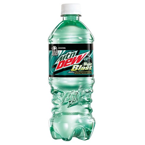 Mountain Dew Baja Blast - 20 fl oz Bottle - image 1 of 3
