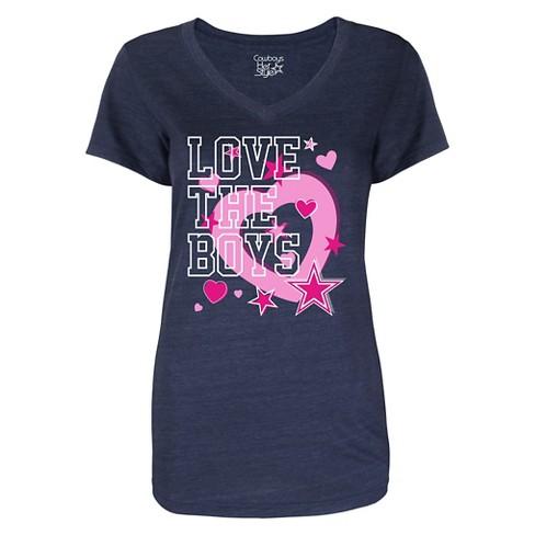 Dallas Cowboys Girls  Love The Boys T-Shirt. Shop all NFL 6ed9f7ab6