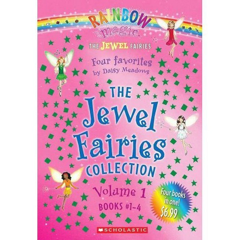 The Jewel Fairies Collection, Volume 1 (Books #1-4) - by  Daisy Meadows & Scholastic (Paperback) - image 1 of 1
