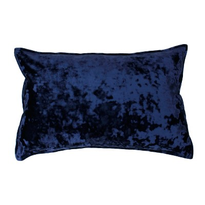 Ibenz Ice Velvet Lumbar Throw Pillow   Décor Therapy by Decor Therapy