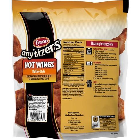 Tyson Any'tizers Buffalo Style Hot Wings - 28oz