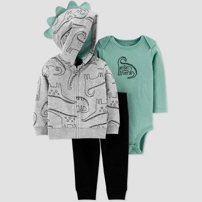 Baby Boys' North Dino Top & Bottom Set - Just One You® made by carter's Blue 3M