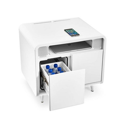 Smart Side Table with Cooling Drawer - Sobro - image 1 of 4