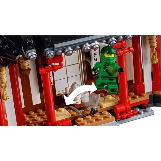 LEGO NINJAGO Legacy Monastery of Spinjitzu Ninja Model with NINJAGO Minifigures 70670 image number null