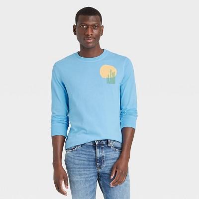 Men's Long Sleeve Graphic T-Shirt - Goodfellow & Co™