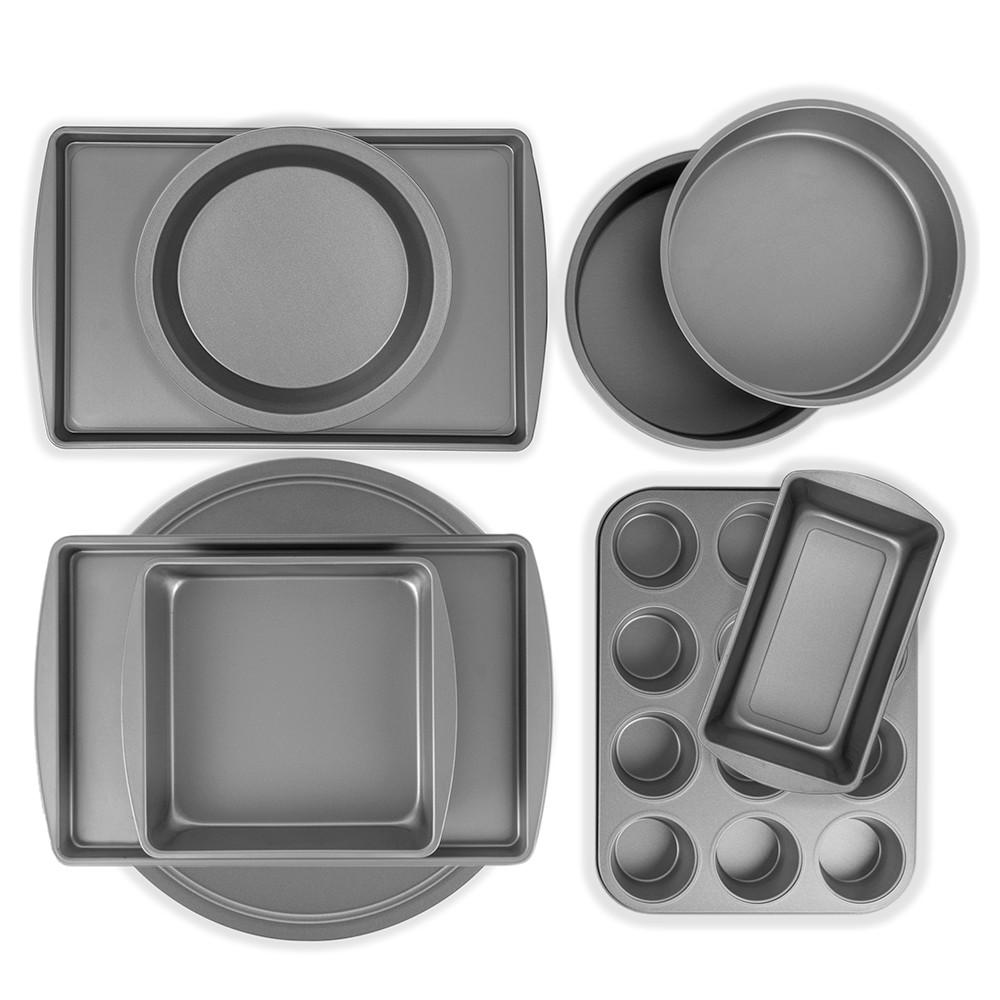 Image of BakerEze Nonstick 9 Piece Baker's Basics Set