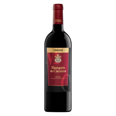 Marques de Caceres Crianza Rioja Red Blend Wine - 750ml Bottle