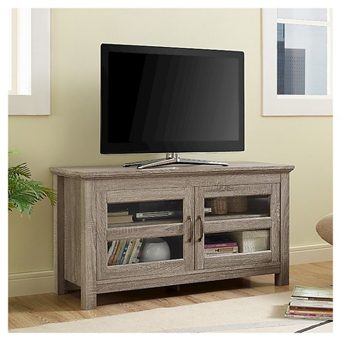 "Saracina Home 44"" Wood TV Media Stand Storage Console - image 1 of 4"