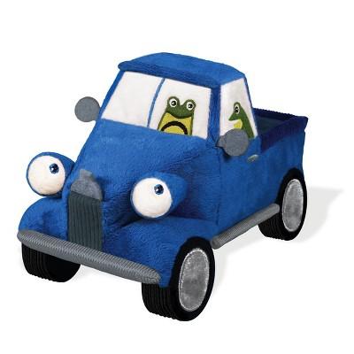 "Yottoy Little Blue Truck 8.5"" Plush Soft Toy with BEEP BEEP Sound"