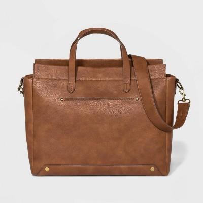 Work Tote Handbag - Universal Thread™ Cognac