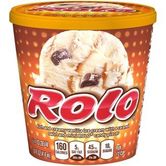 Nestle Rolo® Ice Cream Pint - 14oz