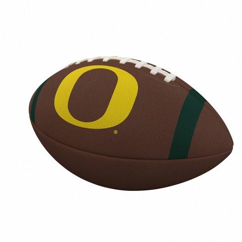 NCAA Oregon Ducks Team Stripe Official-Size Composite Football - image 1 of 1