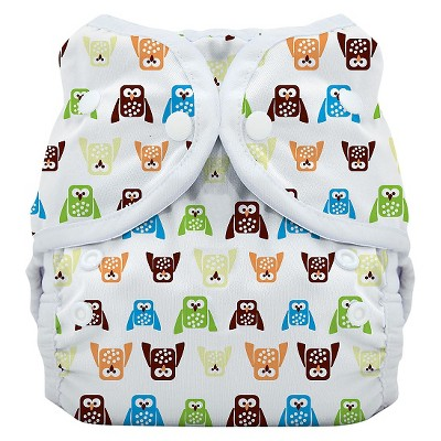 Thirsties Snap Duo Wrap, Hoot - Size One