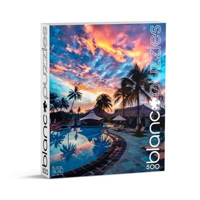 blanc Bali Sunset Jigsaw Puzzle - 500pc