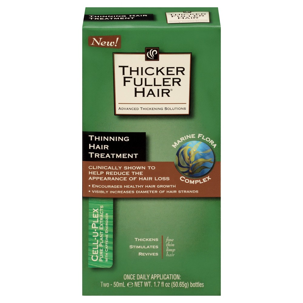 Thicker Fuller Hair Thinning Hair Treatment - 1.7 fl oz