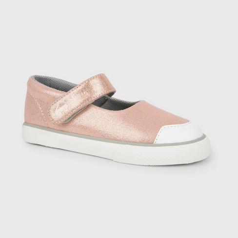 3e8aab048315 Toddler Girls  See Kai Run Basics Emily Rose Shimmer Mary Jane Shoes - Rose  Gold