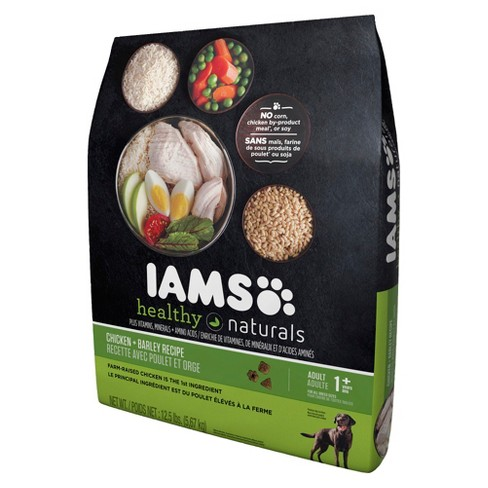 Iams Healthy Naturals Chicken & Barley Dry Dog Food - image 1 of 2