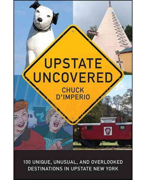 Upstate Uncovered : 100 Unique, Unusual, and Overlooked Destinations in Upstate New York (Paperback) - image 1 of 1
