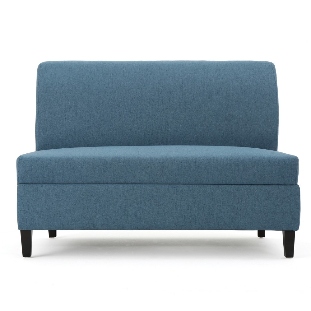 Tovah Storage Loveseat Blue - Christopher Knight Home
