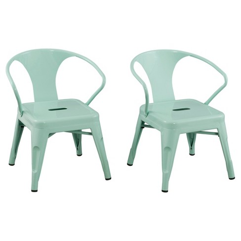Metal Kids Chair (Set of 2) - Reservation Seating - image 1 of 3