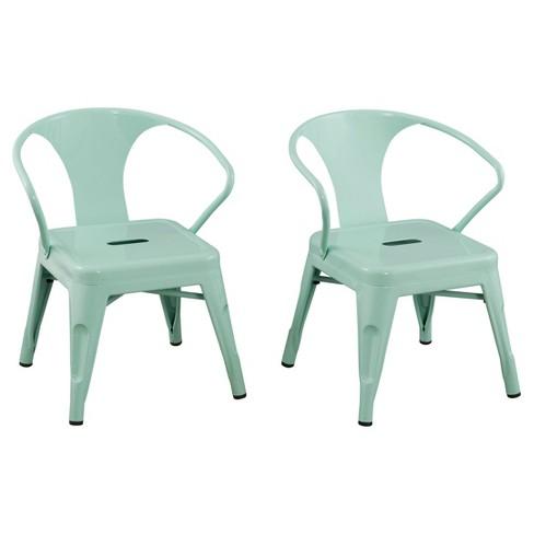 Pleasing Metal Kids Chair Set Of 2 Reservation Seating Interior Design Ideas Gentotryabchikinfo