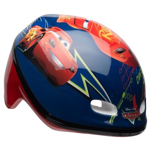 Disney Pixar S Cars Kids Bike Helmet Blue Red Target