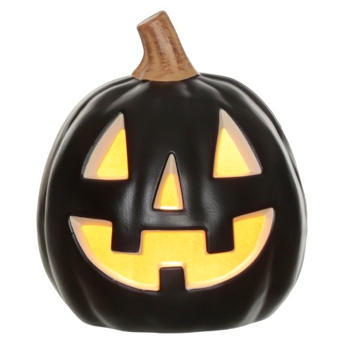"Halloween Lit Pumpkin 9"" - Hyde and Eek! Boutique™ - image 1 of 2"