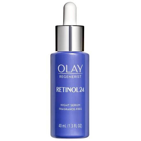 Olay Regenerist Retinol 24 Night Facial Serum - 1.3 fl oz - image 1 of 4
