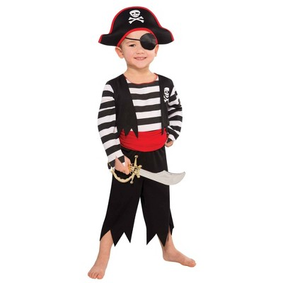 Kids' Rascal Pirate Halloween Costume - 3T-4T