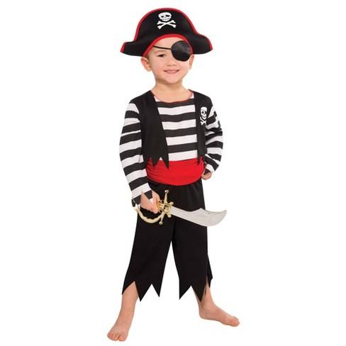 Kids' Rascal Pirate Halloween Costume - image 1 of 1