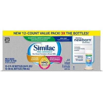 Similac Pro-Advance Non-GMO Infant Formula with Iron - 12ct/2 fl oz Each