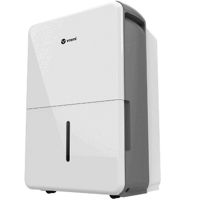 Vremi VRM010637N 22 Pint Capacity Portable Energy Star Home Moisture Air Dehumidifier for 1,500 Square Foot for Medium Spaces and Basements, White