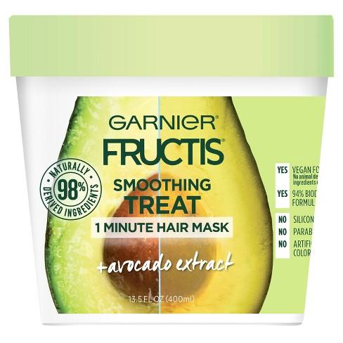 Garnier Fructis 1 Minute Nourishing Hair Mask - 13.5 fl oz - image 1 of 5