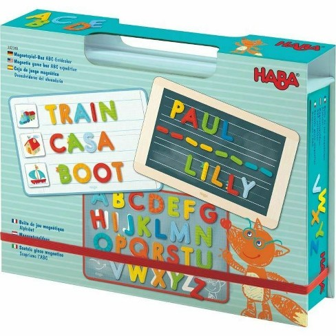 HABA Magnetic Game Box ABC Expedition - image 1 of 4