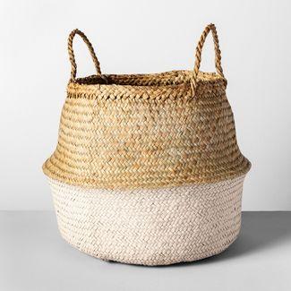 """Decorative Pop Up Belly Basket Light Pink 12.6""""x15.75"""" - Opalhouse™"""