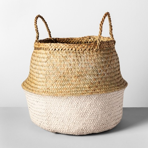 "Decorative Pop Up Belly Basket Light Pink 12.6""x15.75"" - Opalhouse™ - image 1 of 4"