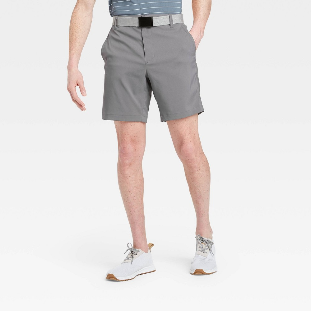 Men's Big & Tall Cargo Golf Shorts - All in Motion Gray 46 was $30.0 now $20.0 (33.0% off)