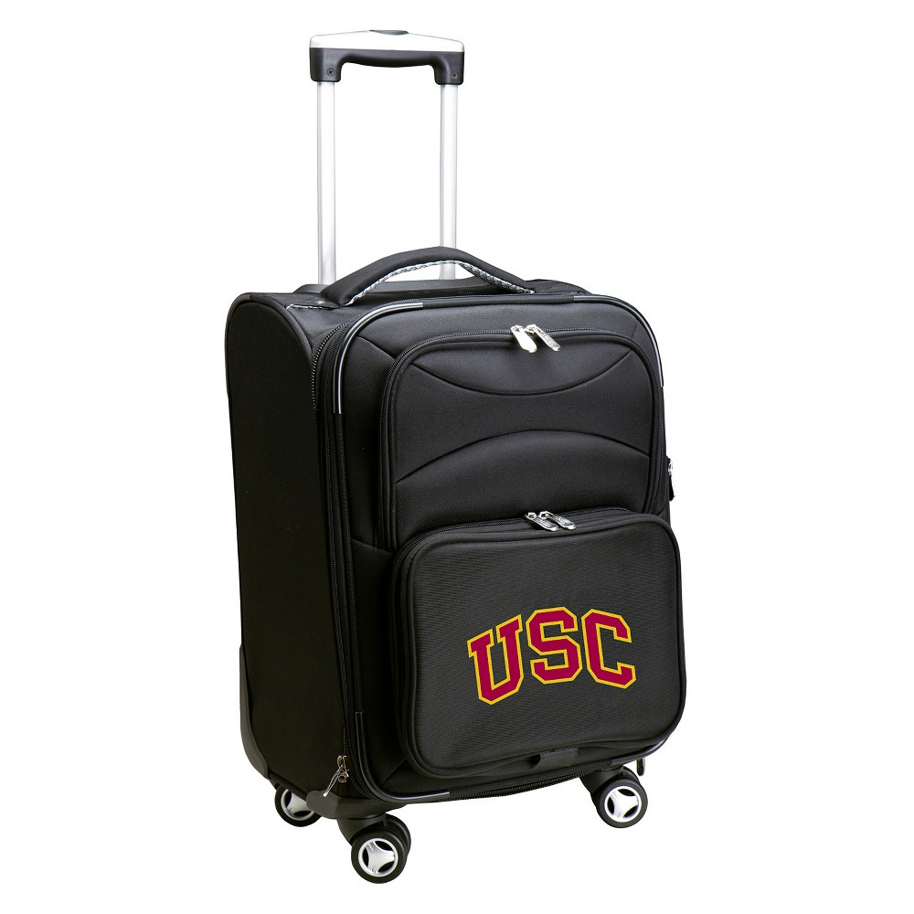 NCAA Usc Trojans Spinner Carry On Suitcase